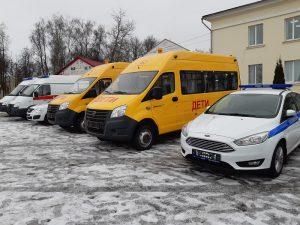 Соцучреждения еще одного района Смоленской области получили новые автомобили