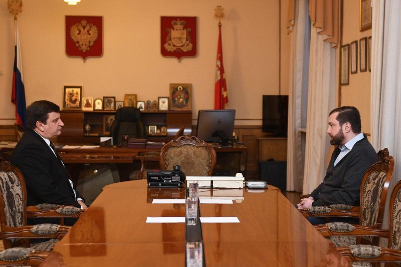 Алексей Островский и Игорь Ляхов обсудили предстоящие выборы