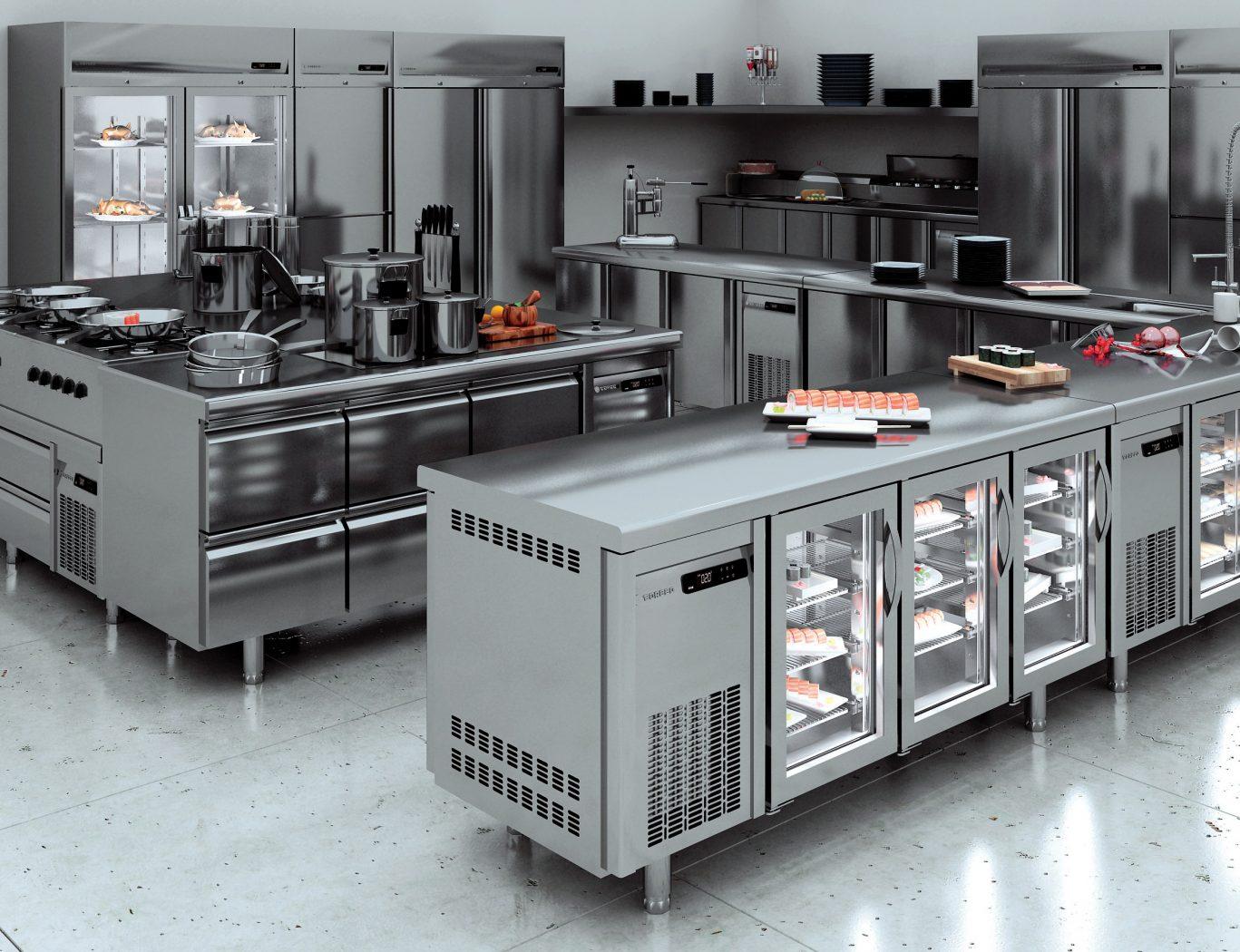 Выбор оборудования для ресторанов и кафе или как купить холодильный стол и другую технику?