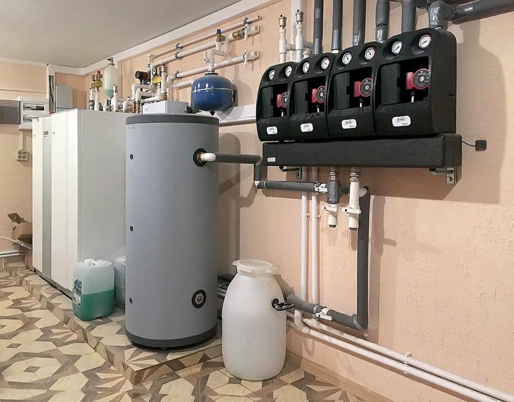 Установка теплового насоса в доме с высокими тепловыми потерями