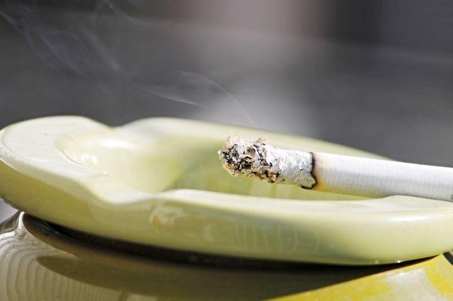 Неосторожность при курении могла стать причиной пожара в квартире смолянина