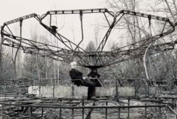 Лидер Rammstein побывал в Чернобыльской зоне