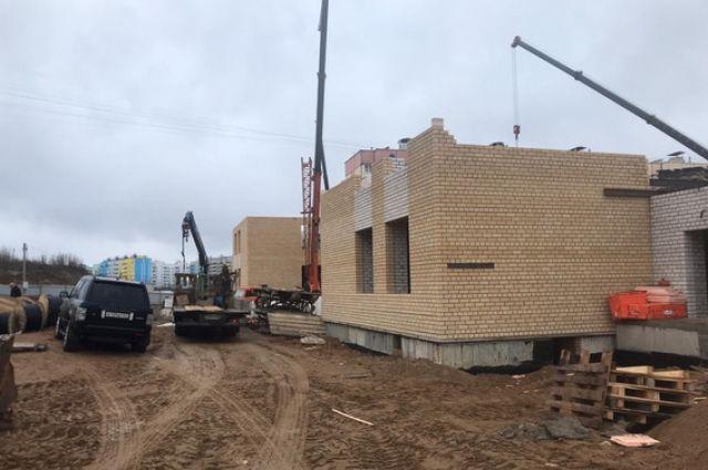 Детский сад в Королевке в Смоленске планируют достроить в 2020 году