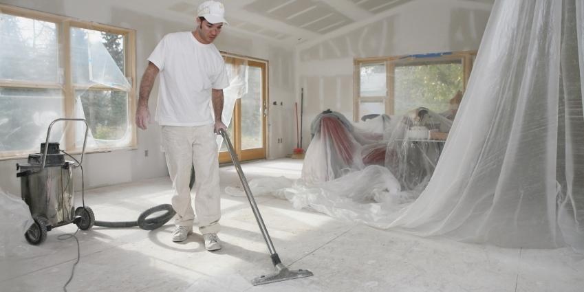 Как привести квартиру в порядок после ремонта?