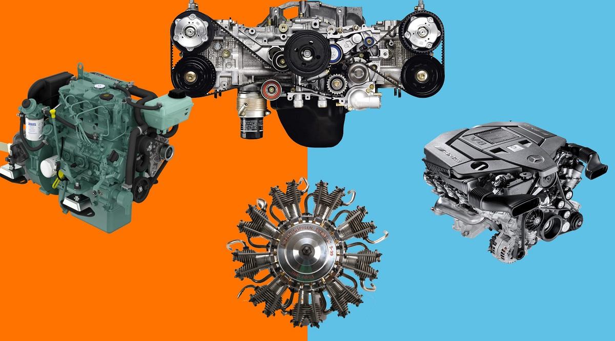 Типы двигателей и их особенности
