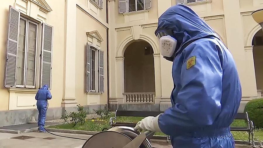 Минобороны объявило о начале вывода военных специалистов из Италии