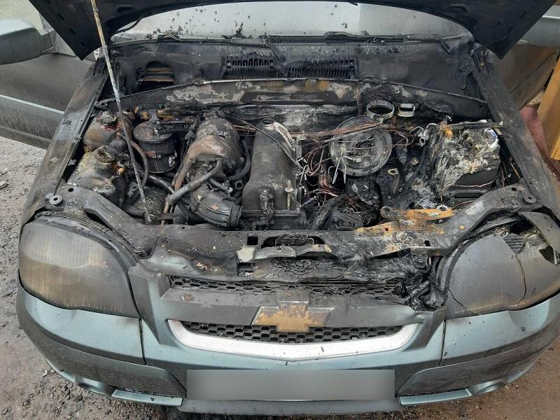 В ГУ МЧС рассказали подробности автопожара в Смоленске