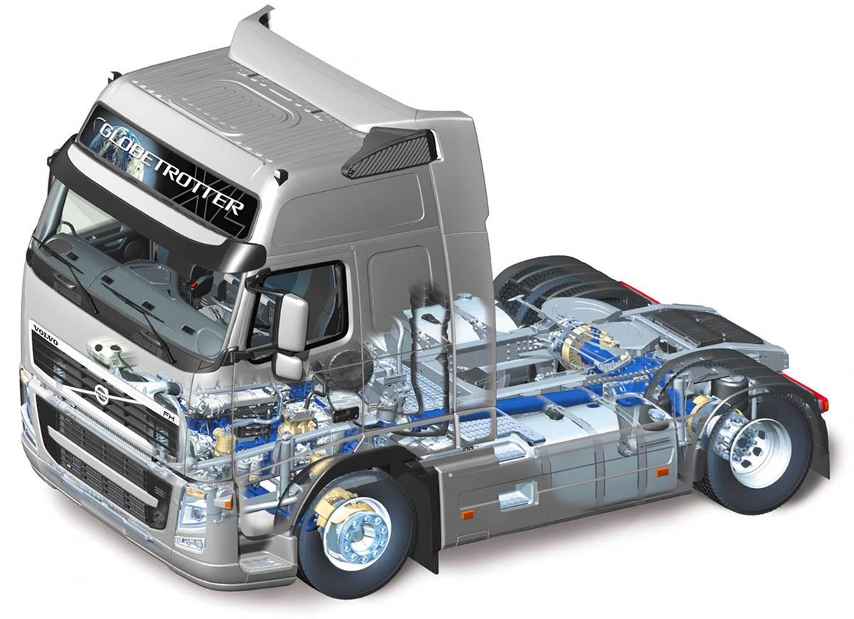 С РуМоторс грузовик починить легко