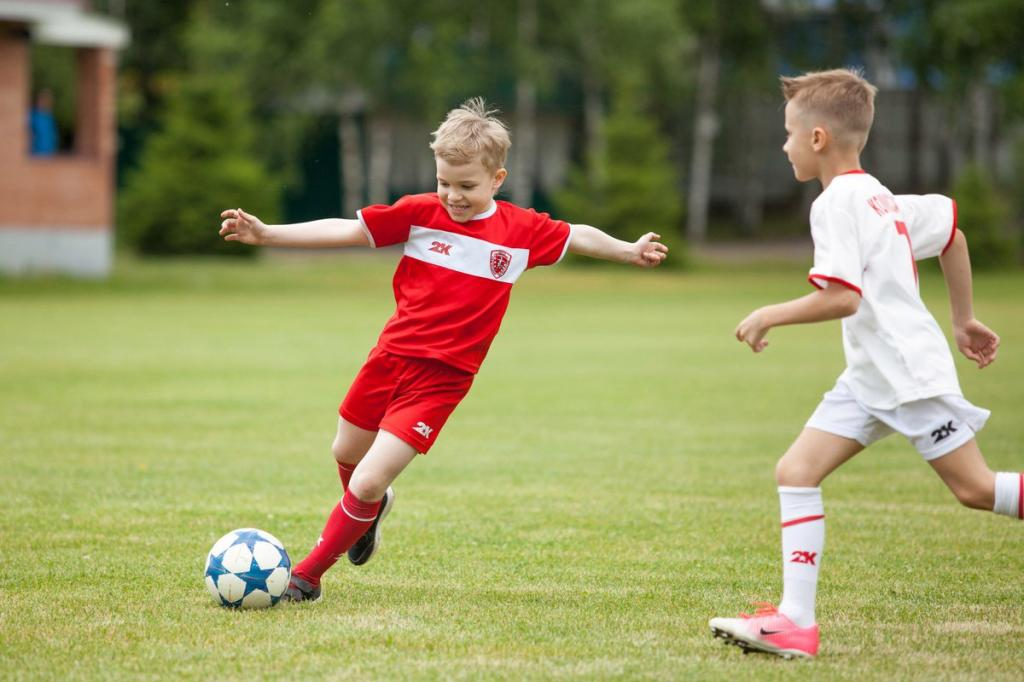 5 причин записать ребенка на футбол