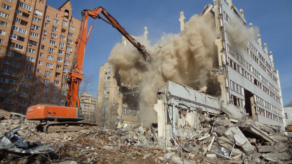 Каковы методы разрушения зданий?