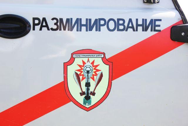 Рабочие нашли две авиационные бомбы в Смоленске