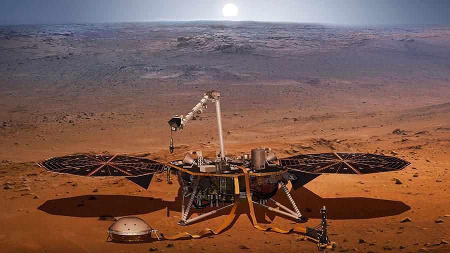 Российские ученые разработали новый способ поиска жизни на Марсе
