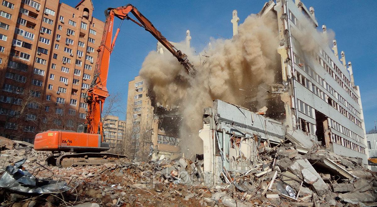 Объекты и здания под снос