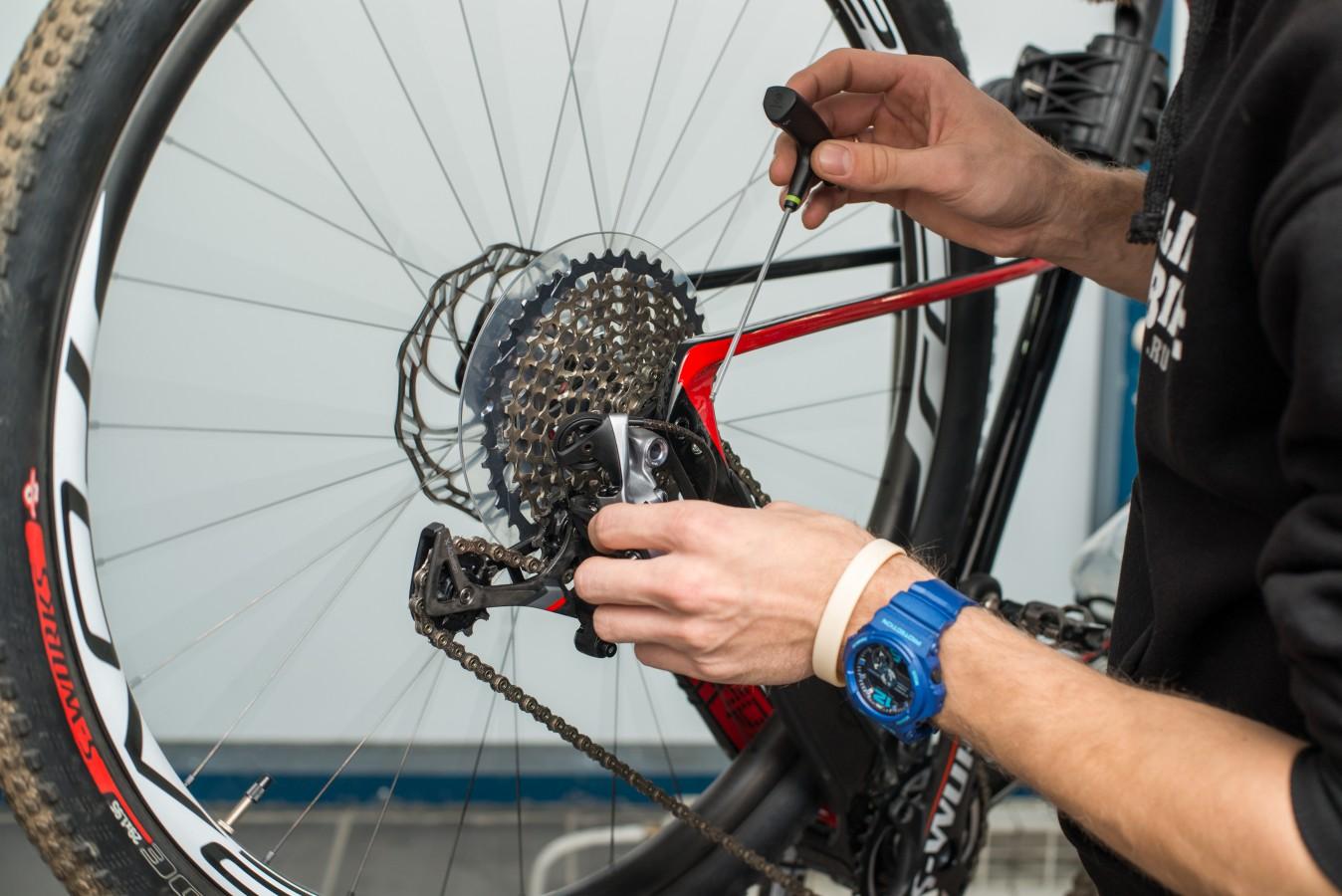 Как выглядит специализированный ремонт велосипедов?