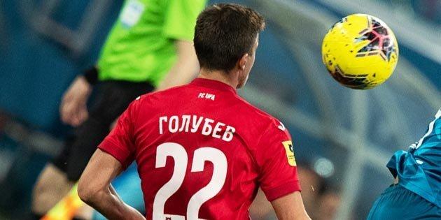 «Чемпионат»: «Уфа» выкупила у «Краснодара» защитника Голубева