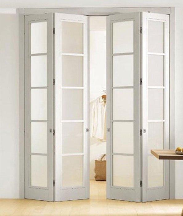Складные двери: характеристика и назначение