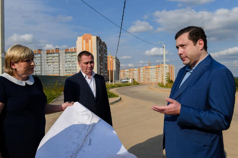 Густонаселенные микрорайоны Смоленска свяжут с федеральной трассой новой дорогой