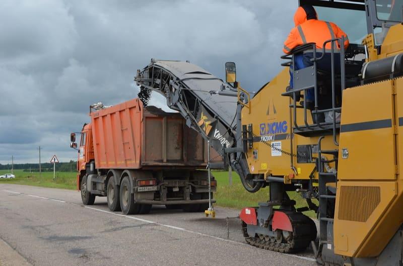 В Смоленской области стартовал ремонт еще одной дороги по нацпроекту