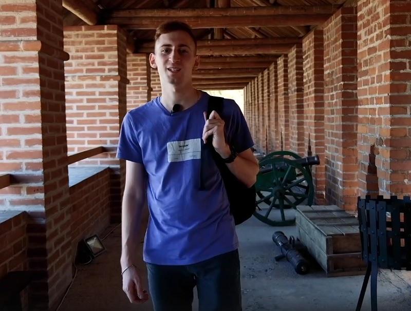 В Смоленске вышел первый выпуск молодежного видеоблога о путешествиях «За стипуху съездить»