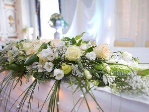 Украшение праздников цветами
