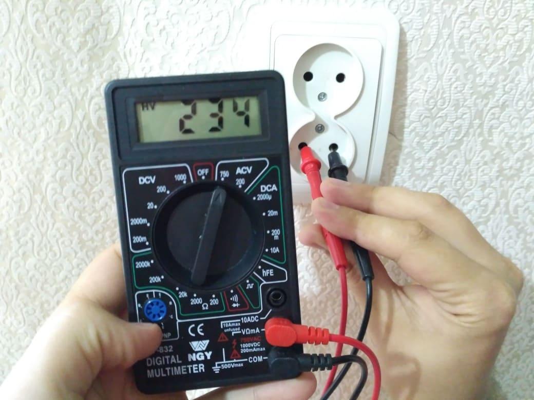 Мультиметр в помощь электрику