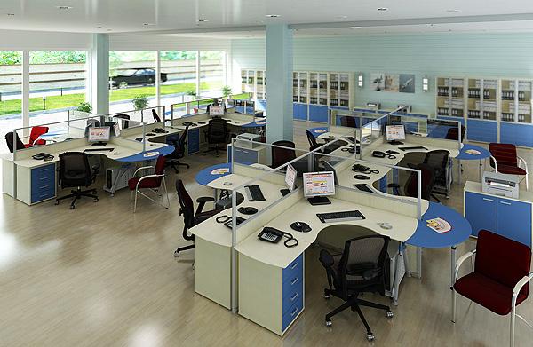 Виды и особенности офисной мебели для персонала