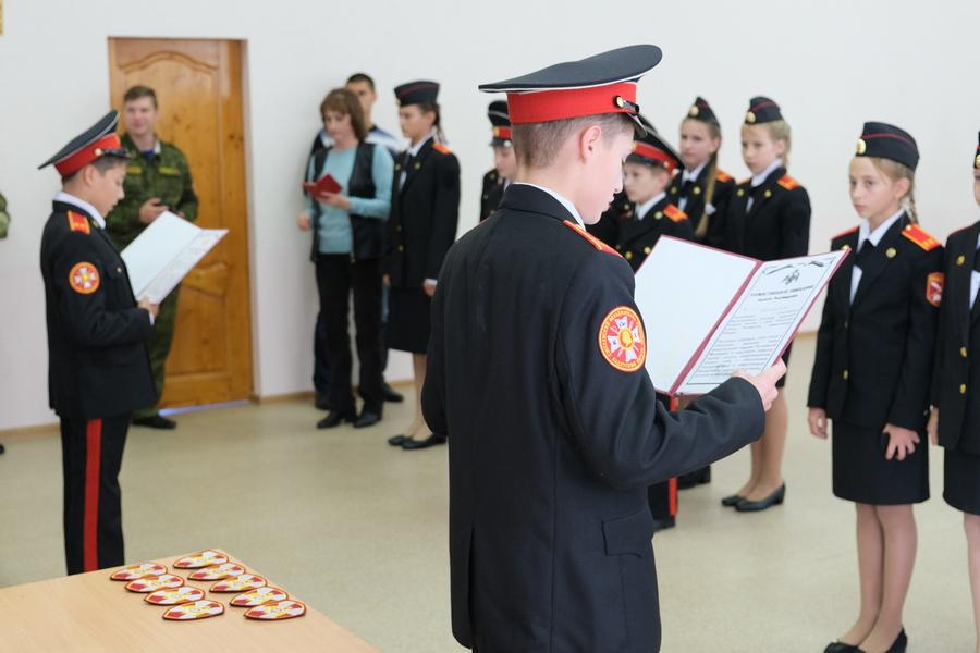 В Смоленске открылся еще один класс Росгвардии