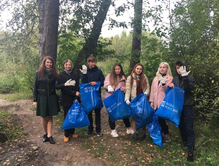 В Смоленске состоялась экологическая акция «Очистим планету от мусора»
