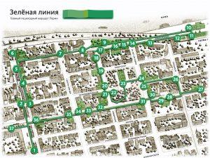 «Зеленая линия» — главный пешеходный маршрут Перми