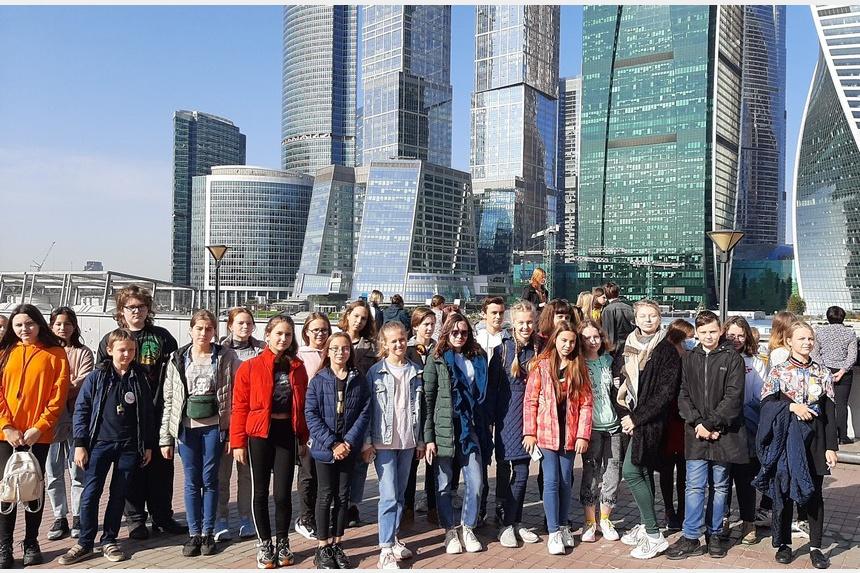 Юные смоляне побывали в городах «Золотого кольца» России
