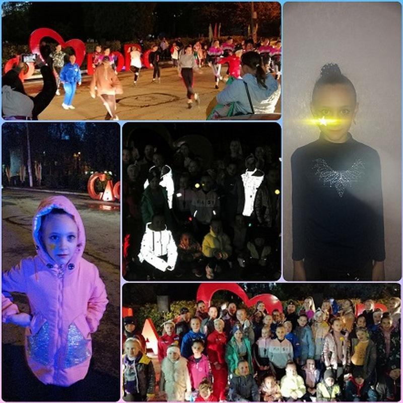 Юные жители Сафонова устроили танцевальный флешмоб