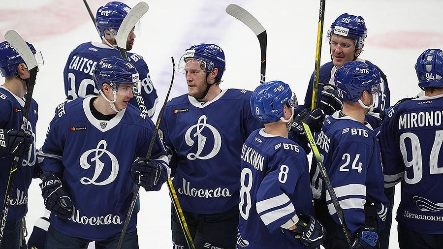 Московское «Динамо» одержало 500-ю победу в КХЛ