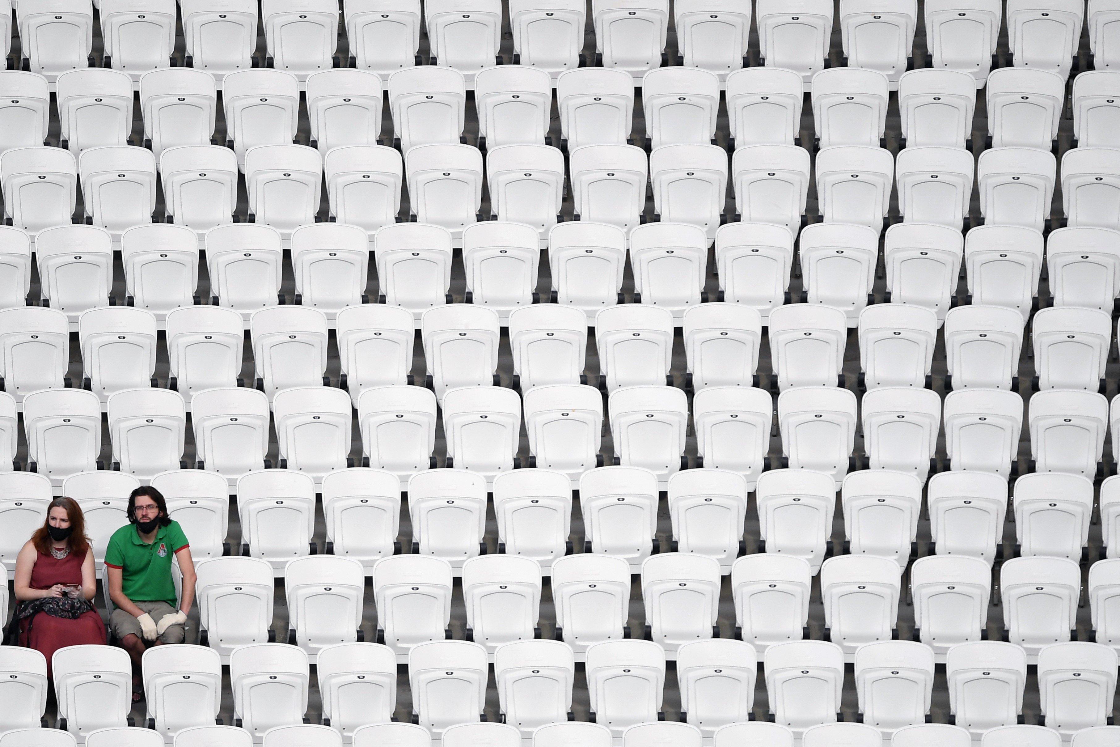 УЕФА разрешил допуск 30% зрителей на матчи еврокубков и сборных
