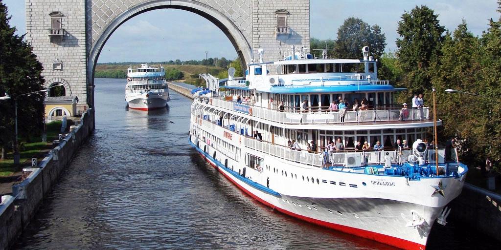 Волга круче моря