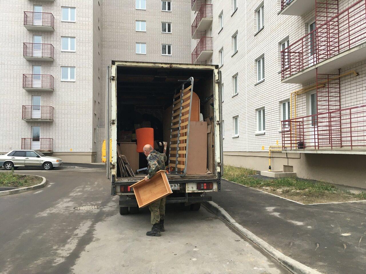 Предстоит переезд из Москвы в Смоленск: опытные профессионалы решают все проблемы.