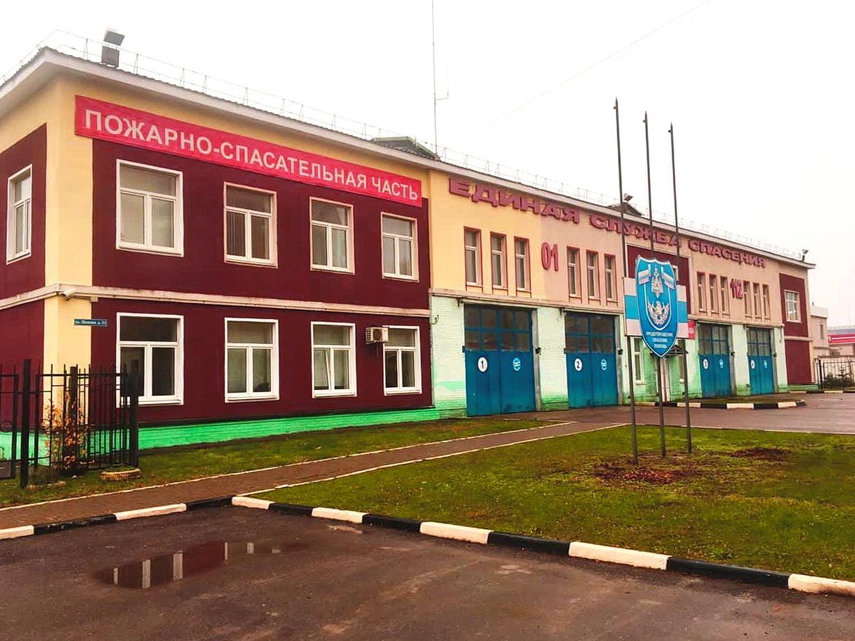 7-я пожарно-спасательная часть признана лучшей в Смоленской области