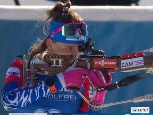 Ну почти: Миронова наладила стрельбу и приблизилась к медали ЧМ-2021