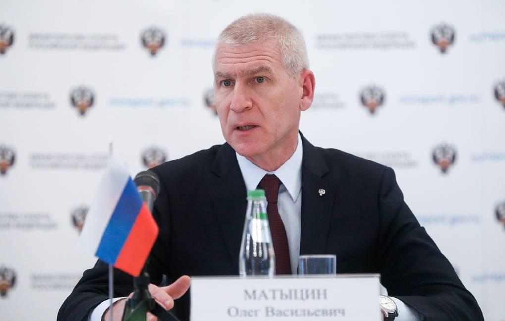 Матыцин предложил спортсменам из стран СНГ привиться российской вакциной от коронавируса