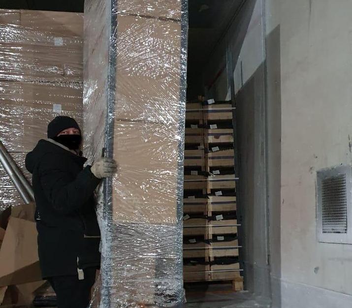В Смоленской области задержали более 100 тонн фруктов из списка продуктового эмбарго