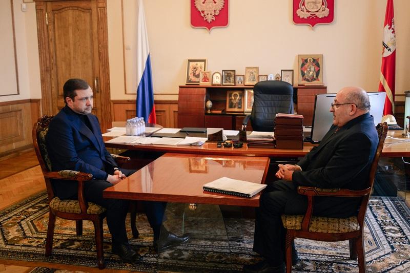 Губернатор обсудил главные проблемы смолян с уполномоченным по правам человека в регионе