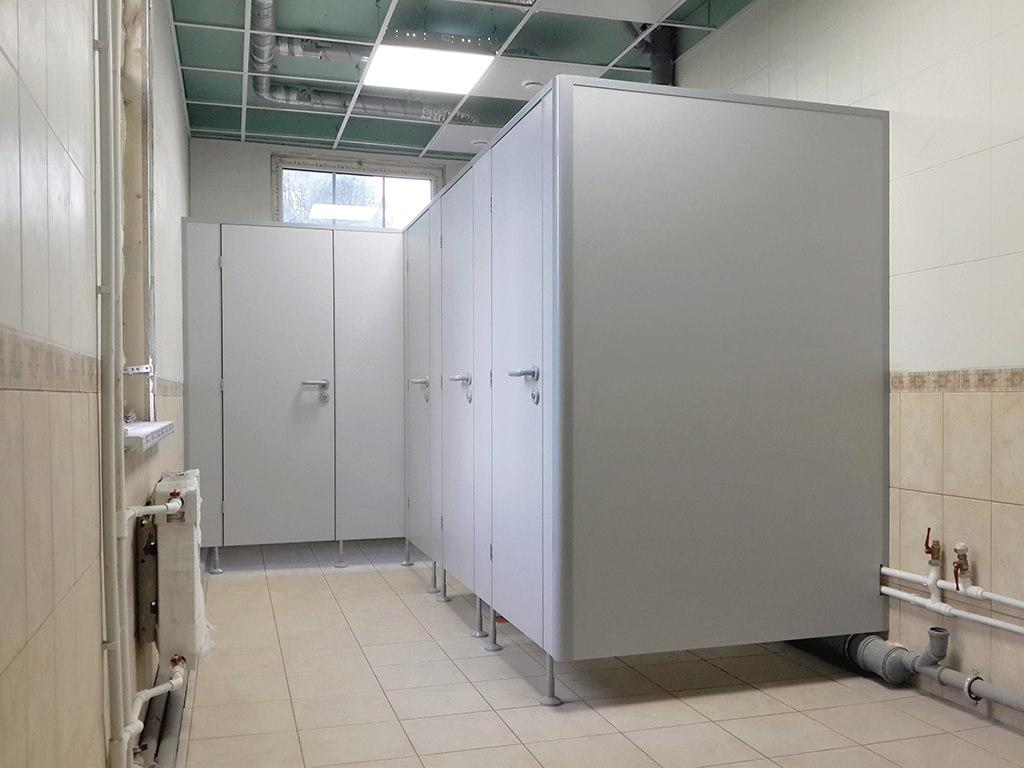 Характеристика сантехнических перегородок