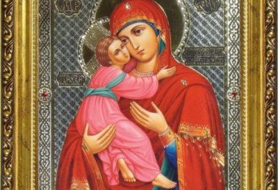 Древняя святыня Руси — Владимирская икона Божией Матери