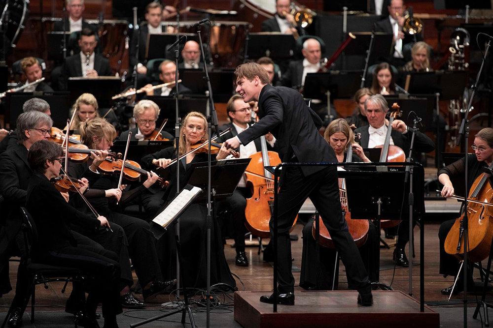 Видеотрансляция: Концерт Филармонического оркестра Осло