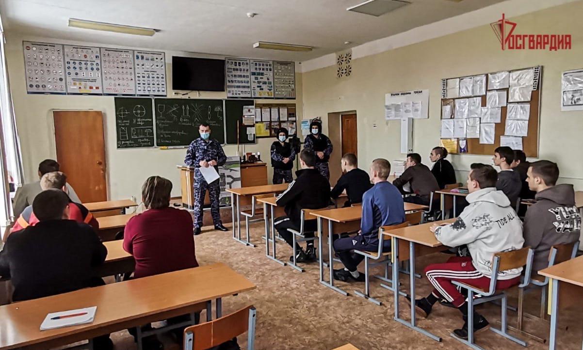 Росгвардейцы побывали в гостях студентов и школьников Смоленской области
