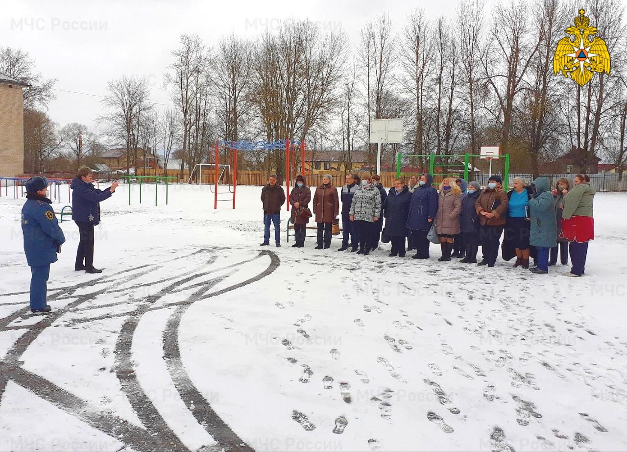 В Гагарине эвакуировали весь персонал школы-интерната
