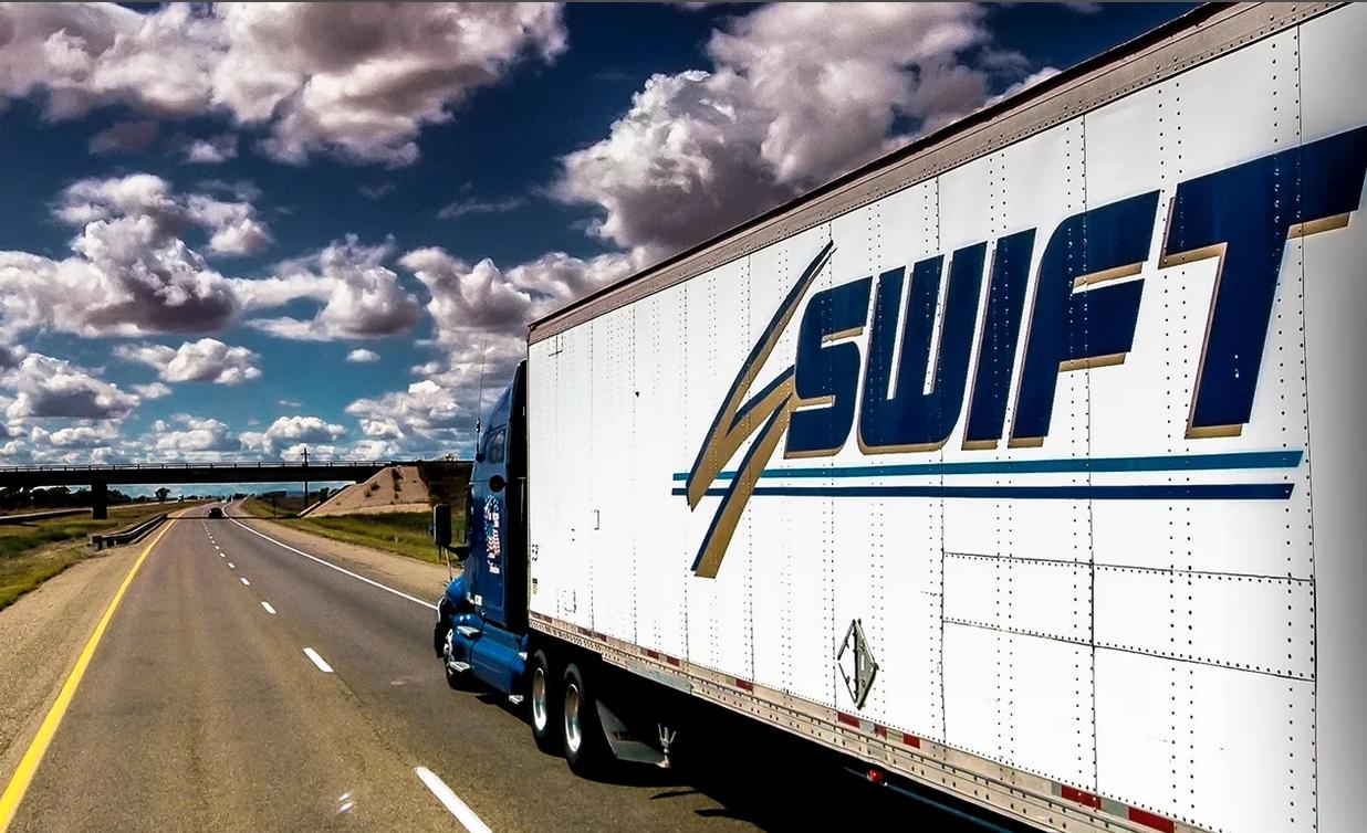 Осуществляем международные грузоперевозки с компанией SWIFT TRANS