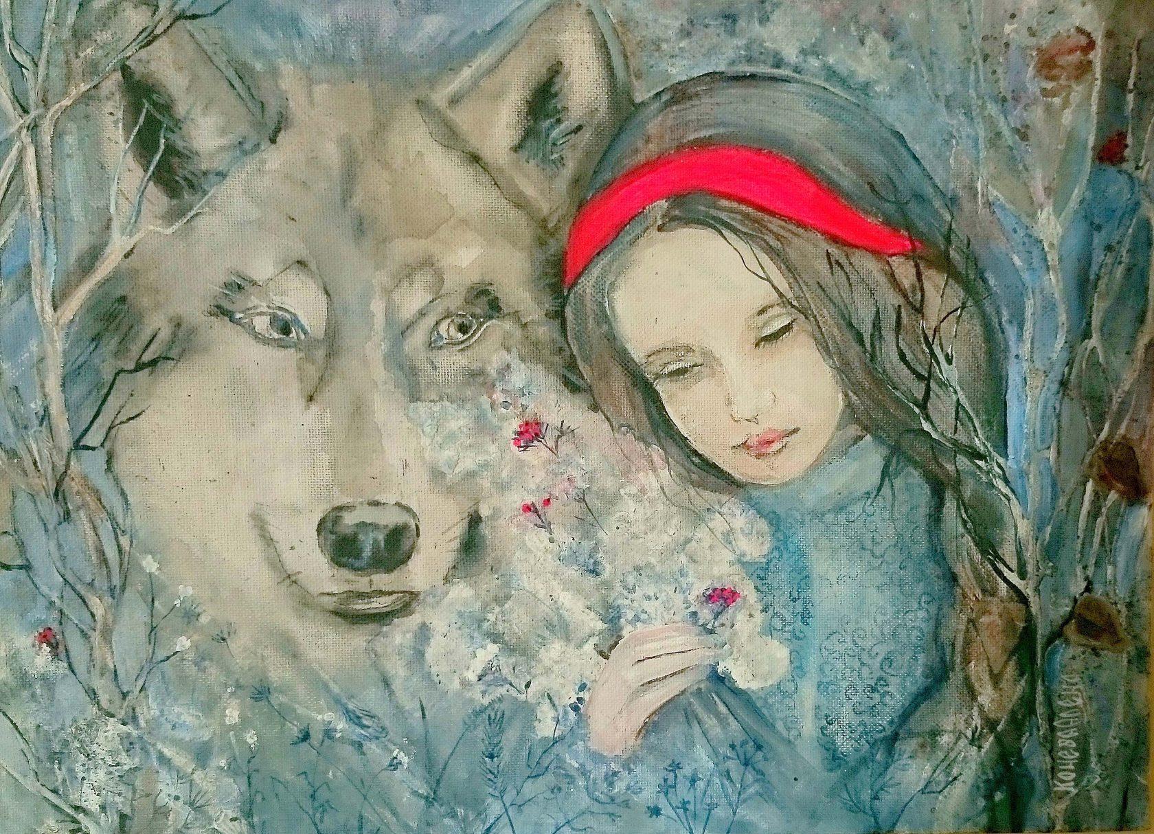 Авторские картины Олёны Коневой