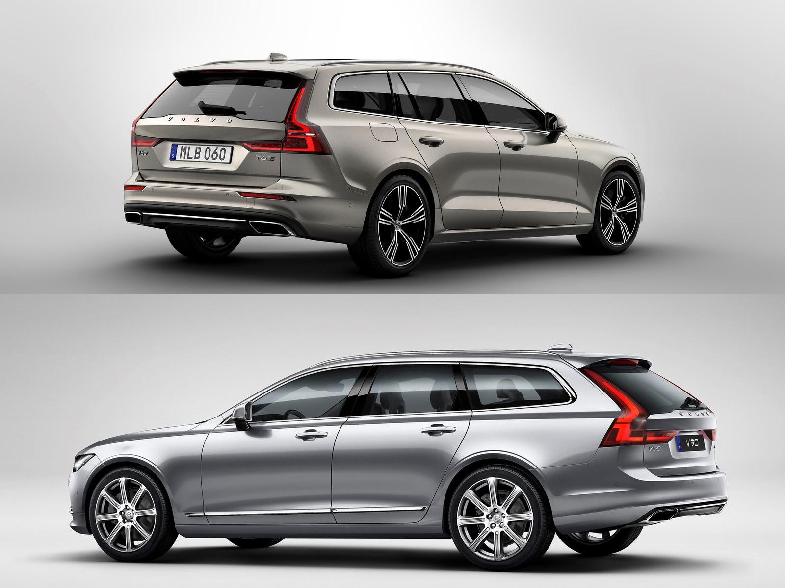 Универсалы Volvo V60 и V90: какой выбрать?