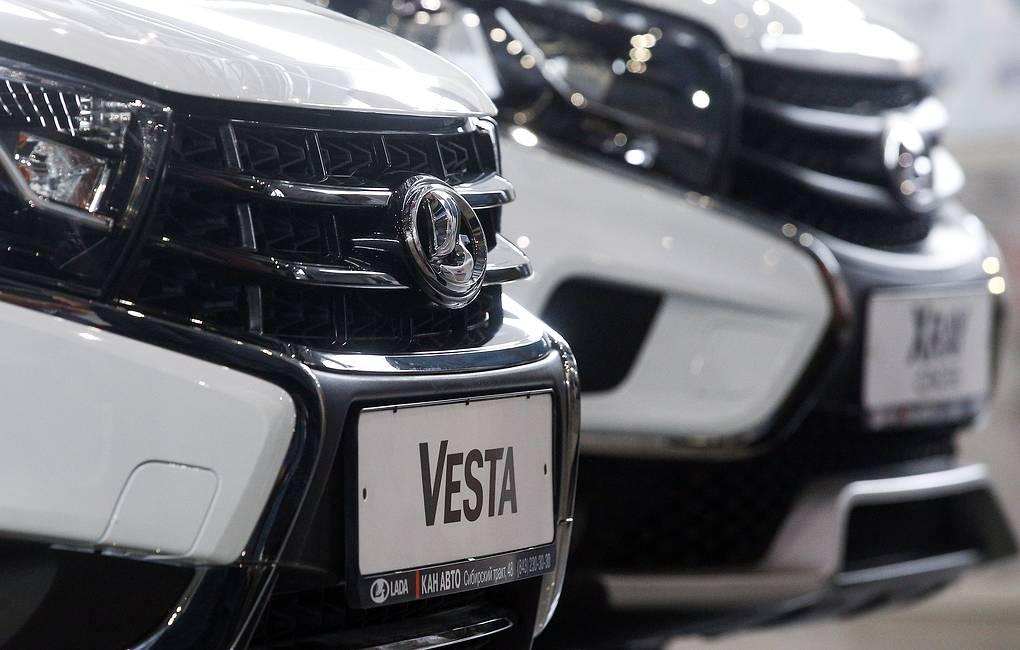 Выпуск обновленной Lada Vesta начнется не раньше 2022 года