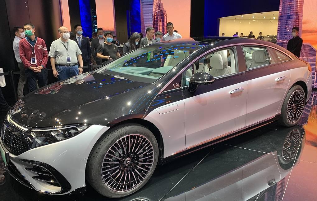 В Китае открылся международный автосалон Auto Shanghai 2021